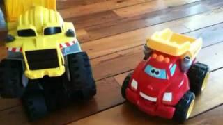 toyportfolio com when trucks meet matchbox rocky and tonka chuck