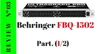 Ecualizador BEHRINGER FBQ1502 - ESPAÑOL (1/2)