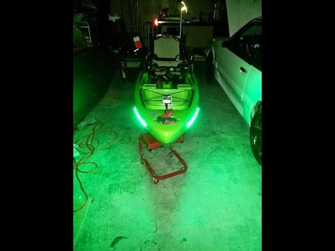 kayak fishing leds: supernova basic install - youtube, Reel Combo
