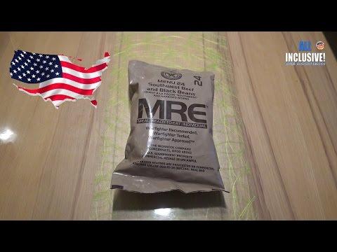 СухПай американской армии Вар. 24 MRE ИРП Сухпаёк США
