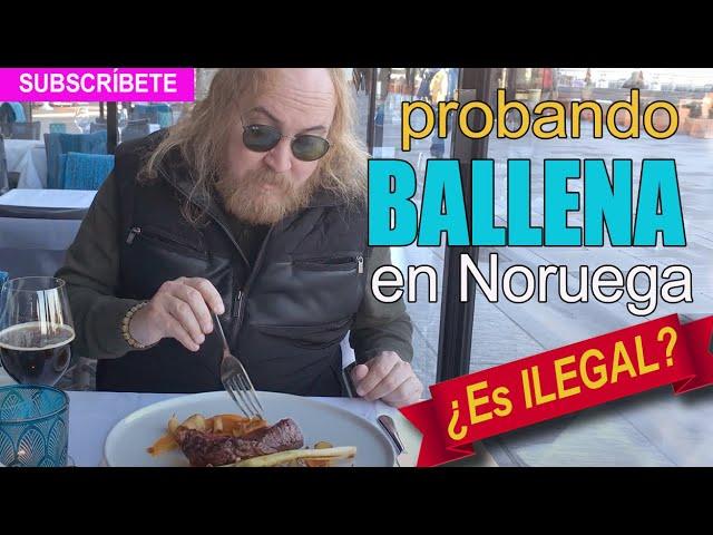 Comiendo un STEAK de BALLENA en Oslo, NORUEGA. - YouTube