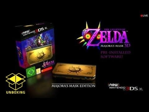 Majora's Mask New Nintendo 3DS XL: Unboxing, Review and Comparison