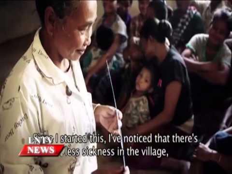 Lao NEWS on LNTV: Recent survey data show that Laos still ranks high in child mortality.5/9/2014