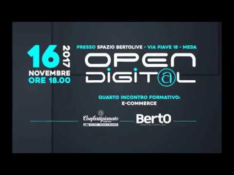 Open Digital quarto incontro sull'e-commerce con ENI e Vodafone presso Bertolive