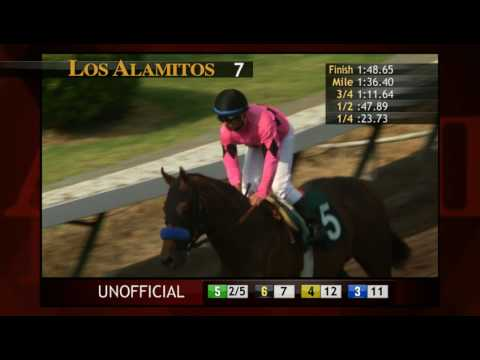West Coast wins the GIII $200,000 Los Alamitos Derby