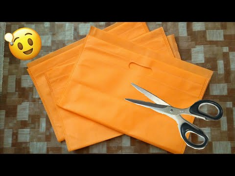 Diy Shopping bag craft | best out of waste craft idea