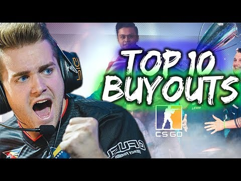 Top 10 CSGO BUYOUTS (that we know of.)