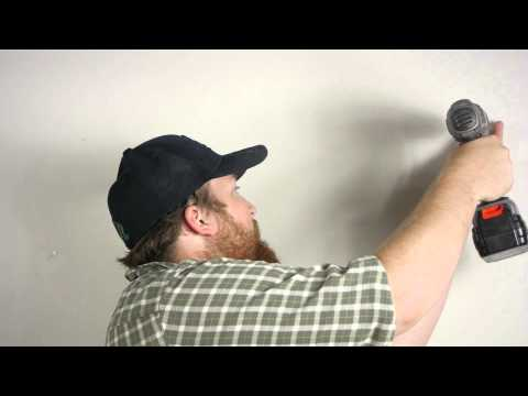 how-to-hang-curtain-rods-on-drywall-:-wall-repair