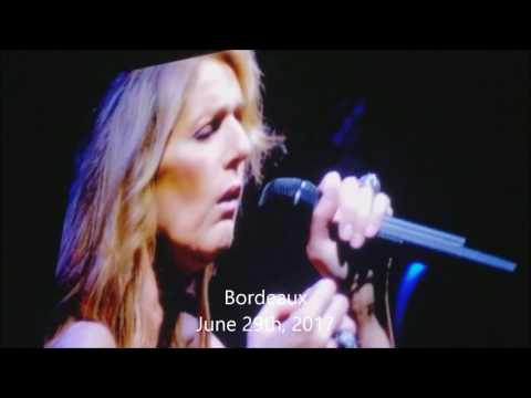 Celine Dion - My Heart Will Go On (2017 Summer Tour Climax Compilation)