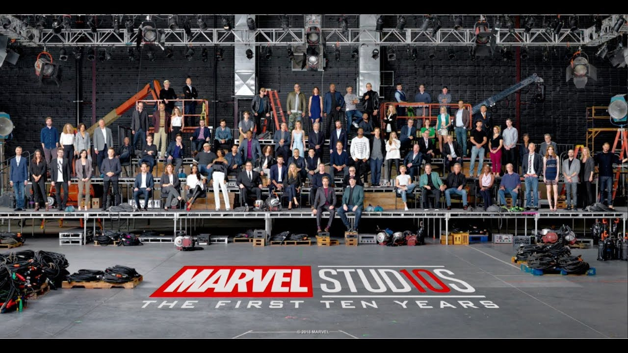 Marvel Releases Star-Studded Class Photo for 10th