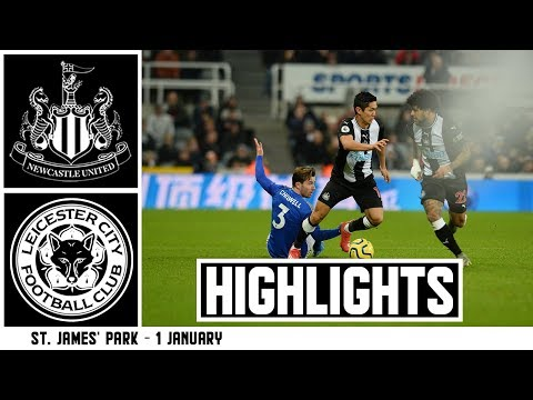 Newcastle United 0 Leicester City 3: Brief Highlights