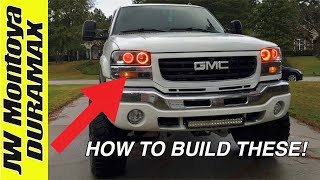 HOW TO BUILD COLOR-SHIFT HALOS! I will be showing you guys how to b...