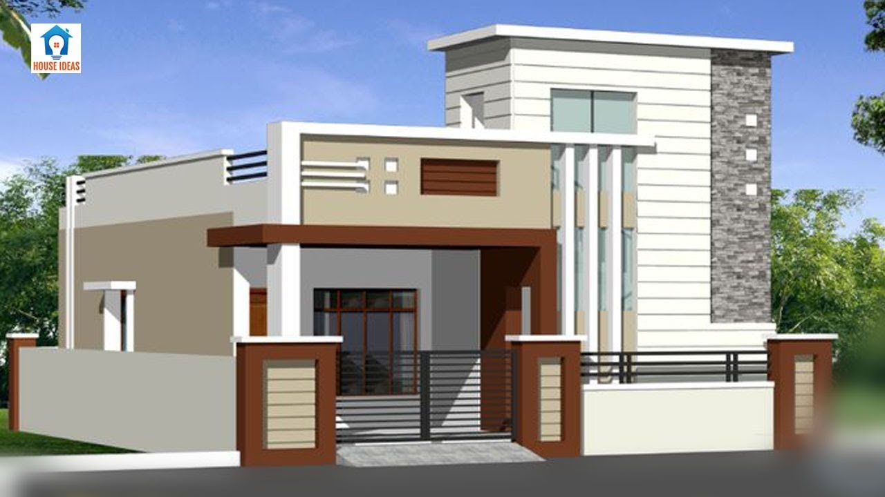 Top 30 Single Floor House Elevation Designs Front