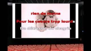 Karaoké  - Clémence et Johnny Hallyday - On a tous besoin d'amour