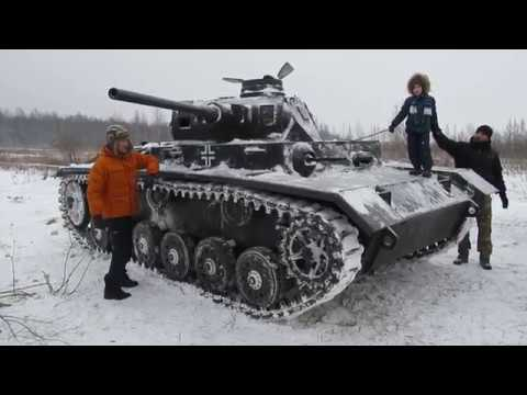 Танк Т-III. Panzerkampfwagen III Ausf.J1
