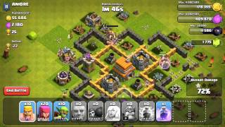 Clash of Clans Let's Play Ep.32:4 Cannon Upgrades+Clan Member Gone+Easy Trophies+Balloon Upgrade!