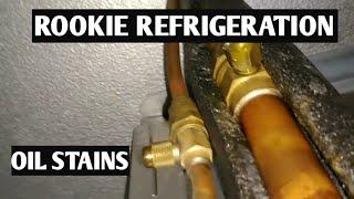 HVAC Refrigeration- Walk In Freezer Evaporator leak