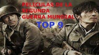 Top 9 Peliculas/Series  de la Segunda Guerra Mundial