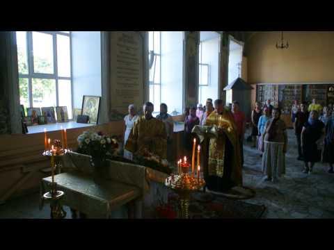 Акафист пророку Илие. Богоявленский собор Орла 01.08.2017