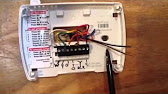 Honeywell thermostat wiring wire programmable thermostats heater 713 fandeluxe Choice Image