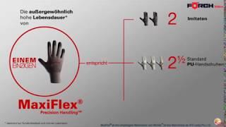 Дышащие защитные перчатки MaxiFlex Ultimate  Forch  (Германия)