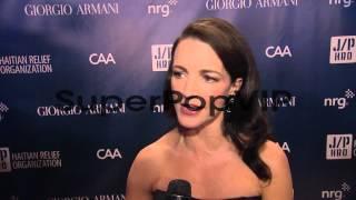 INTERVIEW - Kristin Davis on Haiti at Sean Penn and Frien...