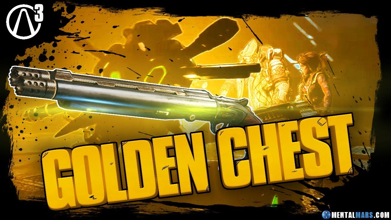 Opening The Golden Chest In Borderlands 3 Mentalmars