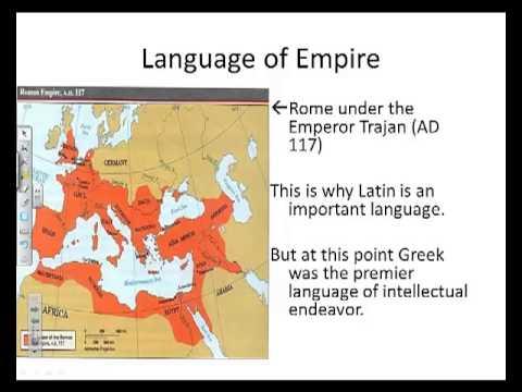 Latin in History