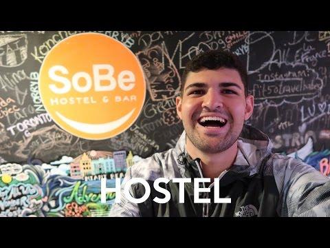 O MELHOR HOSTEL DE MIAMI BEACH! (SoBe Hostel & Bar)
