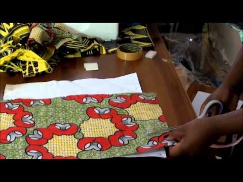 How to make an envelope clutch with ankara or african for How to make african jewelry crafts