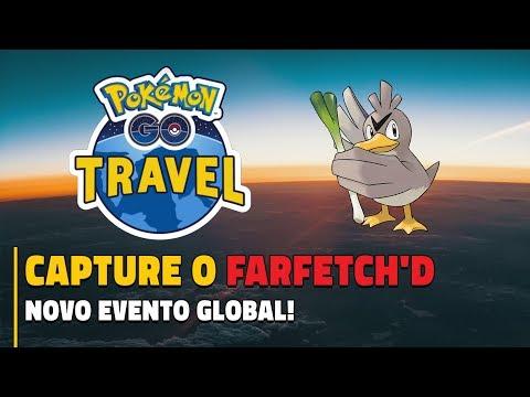 FARFETCH'D NO BRASIL! Evento Pokémon GO Travel COMEÇOU! | Pokémon GO