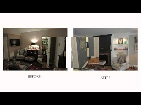 Going Traditional - NYC Apartment Transformation Before & After - E57th St.