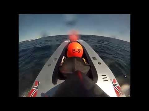 Onboard Class 3B Offshore Boat Racing in Tvedestrand, Norway!