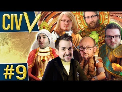 Civ V: Retro Rumble #9 - Influencing An-twerp
