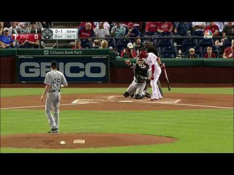September 21, 2016-Chicago White Sox vs. Philadelphia Phillies