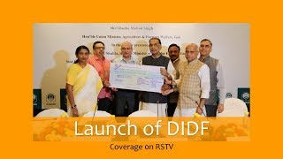 Launch of DIDF – Coverage on RSTV