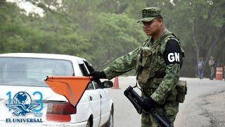 Todo listo para el debut de la Guardia Nacional en el desfile militar