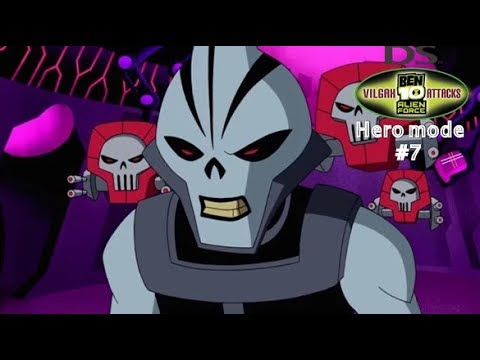 Ben 10 AF: Vilgax Attacks (DS)  ► Hero Mode ► Bosses Walkthrough ► Episode #7 ► Psyphon