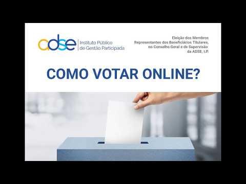 Como Votar Online? | Eleição 2017.09.19 CGS ADSE, I.P.