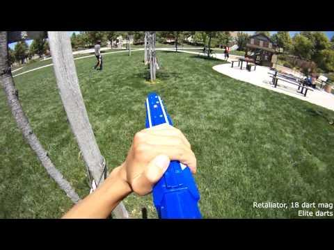 [Nerf War] Arms Race TDM - FSB Time Crisis Retaliator Gameplay