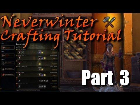 Neverwinter Crafting Tutorial Pt.3 – The Basics of Alchemy