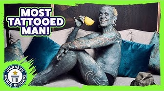 Most Tattooed Man! Lucky Diamond Rich - Meet The Record Breakers