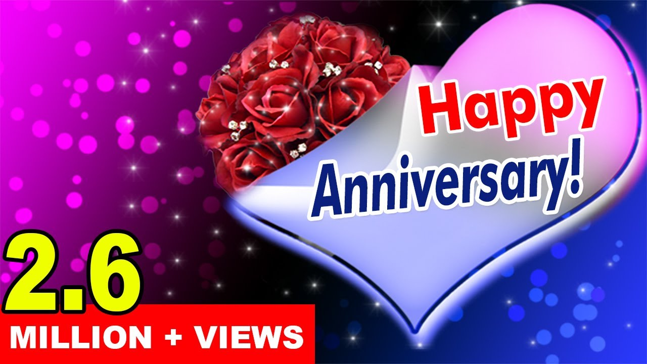 Wedding marriage anniversary video greetings youtube m4hsunfo