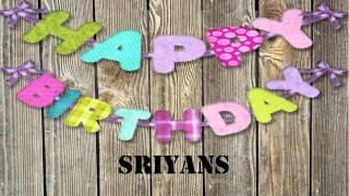 Sriyans   wishes Mensajes