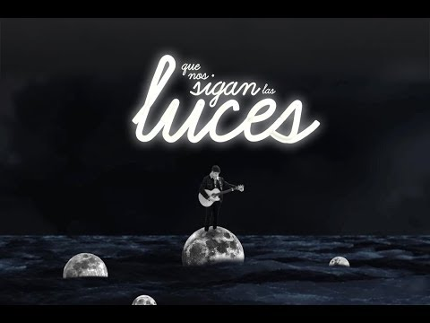QUE NOS SIGAN LAS LUCES - ALFRED GARCÍA | LYRIC VIDEO