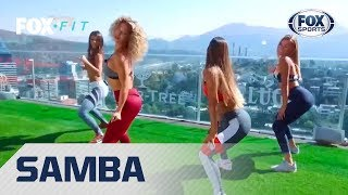 FOX Fit con Lucila Vit: Tonifica piernas y abdomen a ritmo de samba
