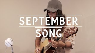 Ria Ritchie - J P Cooper - September Song Acoustic Cover