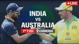 india vs australia live cricket match 1st t20 match  live score and commentary