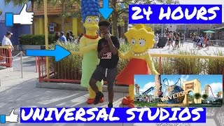 24 HOURS  OVERNIGHT AT UNIVERSAL STUDIOS