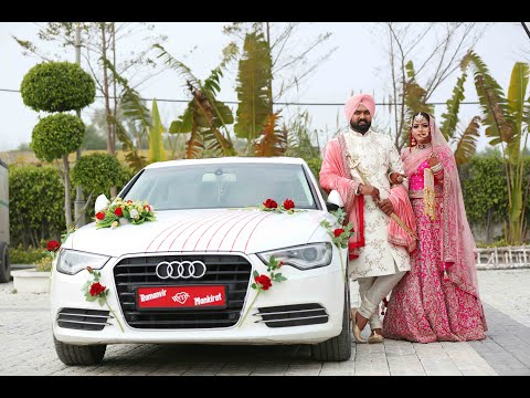 REALVISION STUDIO INDIA & UK Best Wedding Teaser Of Ramanvir & Mankirat